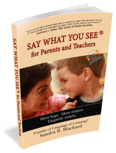 SAY WHAT YOU SEE Book
