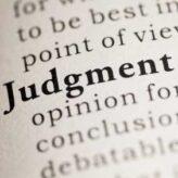 Redefining Judgment